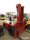 Nissan Forklift (No Serial Number Found): LP Gas, 8000 lb. Cap.