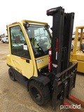 Hyster H60FT Forklift, s/n L177B25079F: Encl. Cab, 5700 lb. Cap., Meter Sho