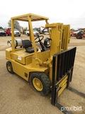 Hyster H40XL Forklift, s/n B177G4085M: Diesel, Side Shift, 4000 lb. Cap.