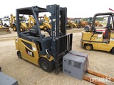 Cat 2EP6000 Forklift, s/n FN442030: 80V, Electric w/ Charger, 5930 lb. Cap.