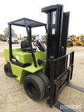 Clark GPS25MB Forklift, s/n GP138MB-0516-6925K0F: 189 Triple Stage Mast, Si