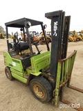 Clark GPX20 Forklift, s/n 0721-7595: Propane