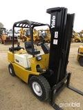 Yale Forklift, s/n 11486470: Model GP050RDNUAE086, 189 Triple Stage Mast, S