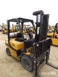 Yale Forklift, s/n B875815412F: Model GLP060VXEVRE091, LP Gas, 5450 lb. Cap