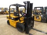 Daewoo G355 Forklift, s/n B100433: 189 Triple Stage Mast, Side Shift, LP Ga