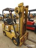 Cat T50C Forklift, s/n 33Y02461: Type G, 5000 lb. Cap.
