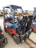 Toyota 7FGCU25 Forklift, s/n 96224: Propane, Side Shift, 4655 lb. Cap