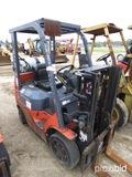Toyota 7FGCU20 Forklift, s/n 00117: Propane, Side Shift, 4655 lb. Cap.