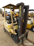 Hyster S50XM Forklift, s/n D187V02926T: LP Gas, 4950 lb. Cap.