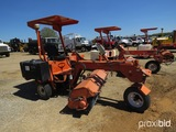 Lay-Mor 6HB Sweeper, s/n 24908: Canopy, 72' Brooms, Meter Shows 914 hrs