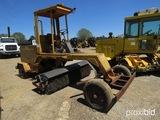 Sweepster SP800 Broom, s/n 94380: Cummins Diesel
