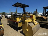 2004 Hypac C340C Tandem Smooth Roller, s/n 901C14603403: Canopy, Static, Me