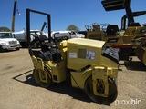Hamm HD10 Tandem Vibratory Roller, s/n 43218: Deutz Diesel, Hydrostatic Tra