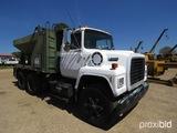 1990 Ford L8000 Asphalt Distributor Truck, s/n 1FDZW82A0LVA37899: Diesel En