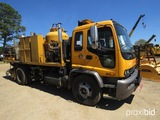 1999 Chevy T8500 Striping Truck, s/n 1GBP7C1C4XJ105489 (Title Delay): Odome