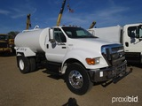 2011 Ford F750 Water Truck, s/n 3FRXF7FA1BV563254: S/A, Cummins ISB 6.7 Eng