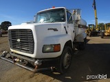 1995 Ford L9000 Water Truck, s/n 1FTYS95W2SVA84004: S/A, Cat Diesel Eng., 7