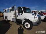 2009 International Durastar Service Truck, s/n 1HTMMAAN99H160332: Auto Cran