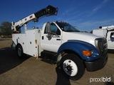 2004 Ford F750 Mechanics Truck, s/n 3FRXF75304V600199: Cat Diesel Eng., 6-s