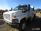 2003 Chevy C7500 Mechanic Truck, s/n 1GBK7E13X3F518794: S/A, Duramax Diesel