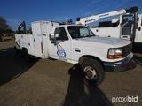 1993 Ford F450 Service Truck, s/n 2FDLF47M1PCA05315: Auto, Honda Generator