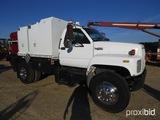 1994 GMC C7500 Fuel & Lube Truck, s/n 1GDMTH1J5RJ505943: Cat Diesel Eng., E