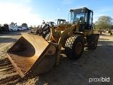 2006 Cat 938G Rubber-tired Loader, s/n RTB02081: C/A, Forks & Bkt.