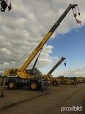 Grove RT650E Rough-terrain Crane, s/n 222087: 50-ton, C/A, Outriggers, 23.5