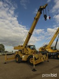 Grove RT500C Rough-terrain Crane, s/n 2550154E: Forward First Gear Inoperable, Meter Shows 4488 hrs
