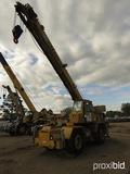 Grove RT525 Rough Terrain Crane, s/n 68771: 70' Boom, w/ Jib, 4-section Boo