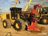 2013 Cat 563C Feller Buncher, s/n JBC00314: Encl. Cab, SC57 Saw Head, 28L T