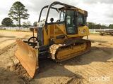 2013 John Deere 700K XLT Dozer, s/n 1T0700KXJDE243146: 6-way Blade, Meter S