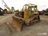 2003 Cat D5N LGP Dozer, s/n AKD00254: Encl. Cab, Sweeps, 6-way Blade, Cat W