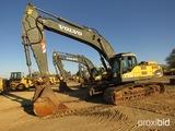 2008 Volvo EC460CL Excavator, s/n J00110130: C/A, 13' Stick, 72