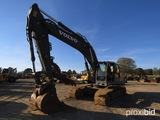 2008 Volvo EC330CL Excavator, s/n 110046: Aux. Hydraulics on Boom, Manual T