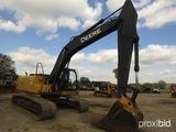 2006 John Deere 240DLC Excavator, s/n FF240DX605321: Encl. Cab, 31.5