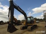 2008 John Deere 160DLC Excavator, s/n FF160DX050050: C/A, Manual Thumb, 36