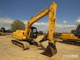2006 John Deere 120C Excavator, s/n 035942: GP Bkt., Meter Shows 2557 hrs