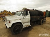 1980 GMC 6000 Asphalt Distributor Truck (Salvage - No Title - Bill of Sale
