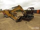 Neuson G8002RD Excavator, s/n AB02835 (Salvage): Burned