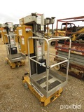 Grove PM31DC Vertical Lift, s/n 31324 (Salvage)