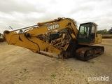 2006 John Deere 160C Excavator, s/n X045447 (Salvage): Cab, Manual Thumb, M