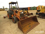 Ford 655C Extendahoe, s/n A409994 (Salvage): 4687 hrs (Owned by MDOT)