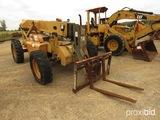 2002 Case 686GXR Telescopic Forklift, s/n JFE0001840 (Salvage): Runs, Runs