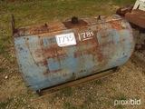 Round Metal Fuel Tank, s/n FT148