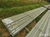 Bundle of 27' Bridge Railing