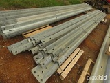 Bundle of Galvanized Rails