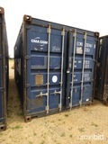 20' Shipping Container, s/n ECMU2024610