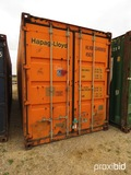 40' Shipping Container, s/n HLXU6348989