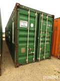 40' Shipping Container, s/n UACU5004984